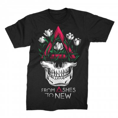 from-ashes-to-new - Face Logo Tee (Black)