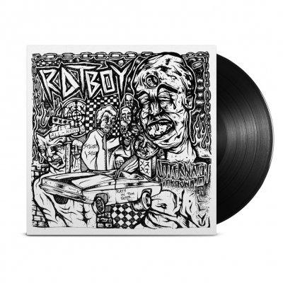 RAT BOY - INTERNATIONALLY UNKNOWN LP (Black)