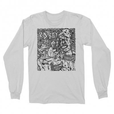 RAT BOY - Album Cover Long Sleeve (White)