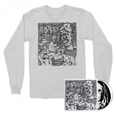 epitaph-records - INTERNATIONALLY UNKNOWN CD + Long Sleeve (White) Bundle
