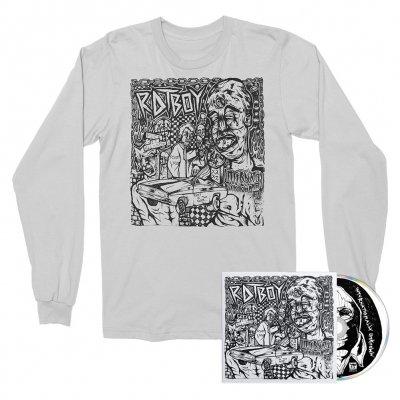 hellcat-records - INTERNATIONALLY UNKNOWN CD + Long Sleeve (White) Bundle