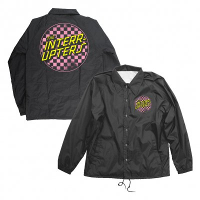 the-interrupters - Checkered Windbreaker (Black)