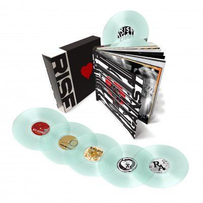 rise-against - Vinyl Box Set (Clear 180g) + FREE 7""