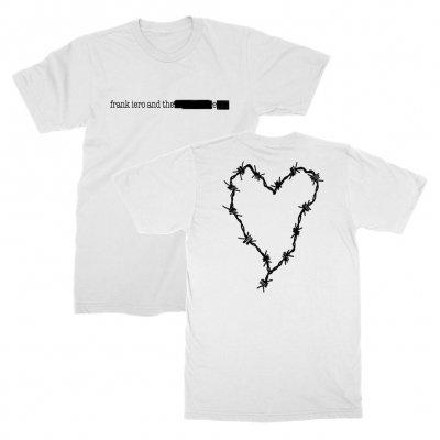 frank-iero - Redacted Logo T-Shirt (White)