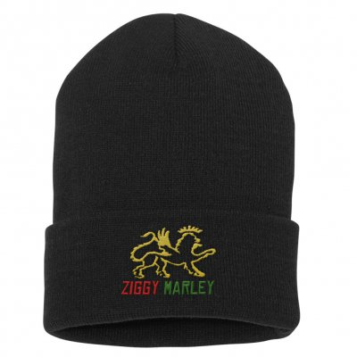 ziggy-marley - Lion Beanie (Black)