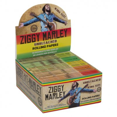 ziggy-marley - Organic Hemp Rolling Papers – King Size - 1 Pack (