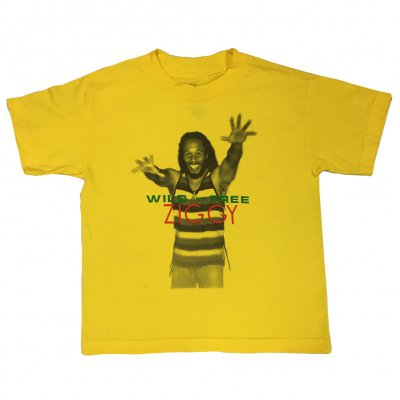 ziggy-marley - Wild & Free Youth Tee (Yellow)