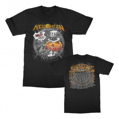 helloween - I Want Out Tour T-Shirt (Black)