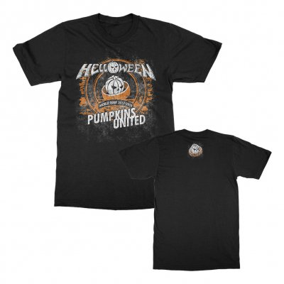 helloween - Pumpkins United T-Shirt (Black)