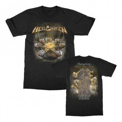 helloween - Pumpkins United Tour T-Shirt (Black)