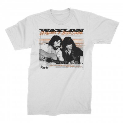 waylon-jennings - Dreams Tee (White)