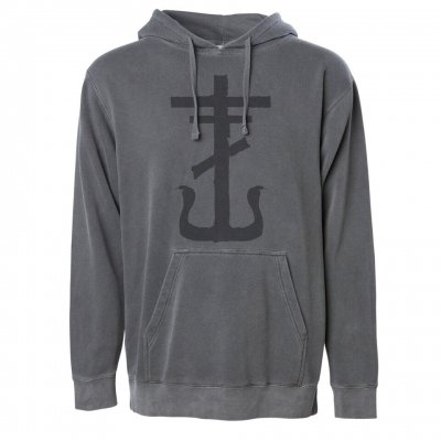 frank-iero - Cross Pullover (Faded Black)