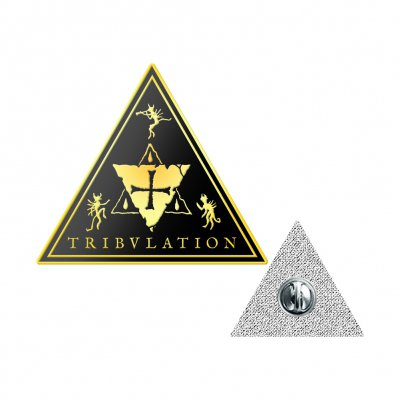 tribulation - Triangle Enamel Pin