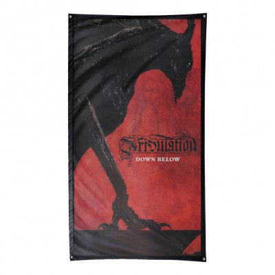 "tribulation - Down Below Flag (59"" x 33"")"