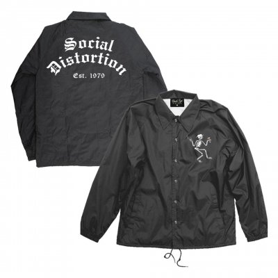 social-distortion - Est. 1979 Windbreaker (Black)