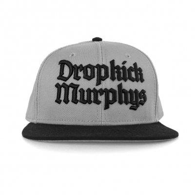 dropkick-murphys - Gothic Logo Snapback (Grey/Black)