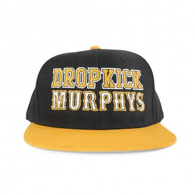 dropkick-murphys - Boston Varsity Snapback (Black/Yellow)