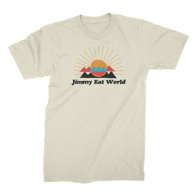 jimmy-eat-world - Desert Sunset Tee (Natural)