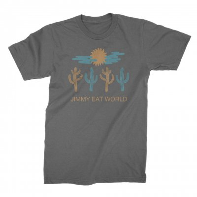 jimmy-eat-world - DelCacti Tee (Charcoal)
