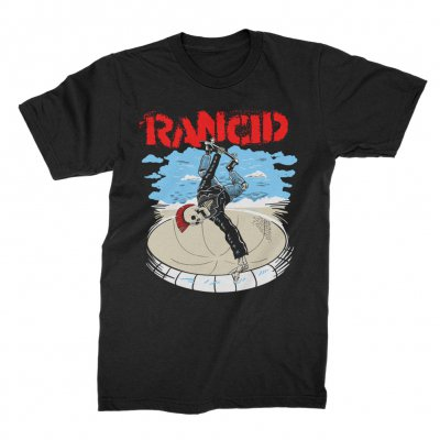 rancid - Skate Skele-tim T-Shirt (Black)