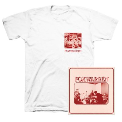 Foxwarren - Foxwarren CD + Tee (White) Bundle