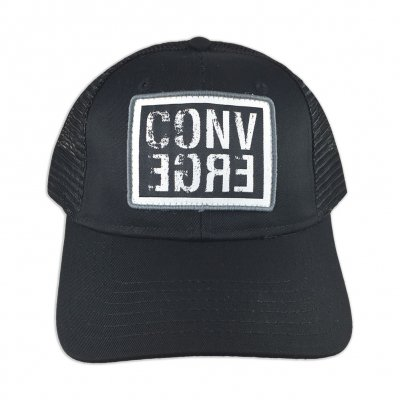 converge - Horizontal Logo Trucker Hat (Black)