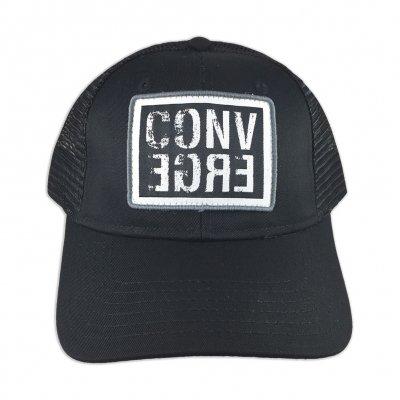 converge - Horizontal Logo Trucker Hat (Black)