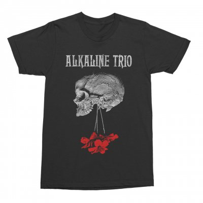 alkaline-trio - Flowers Down Tee (Black)
