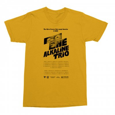 alkaline-trio - Shining Tee (Yellow)