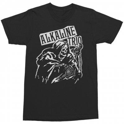 alkaline-trio - Ringer Tee (Black)