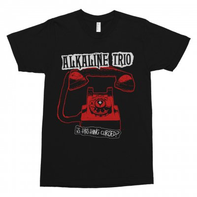 alkaline-trio - Cursed Phone Women's Tee (Black)