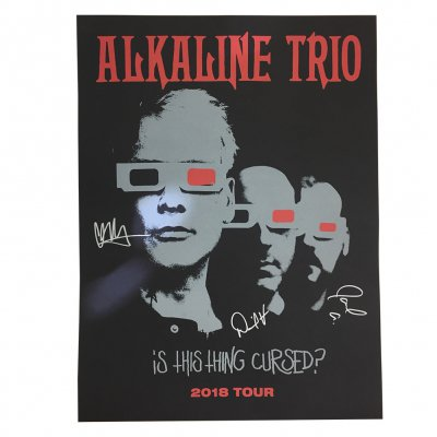 alkaline-trio - Is This Thing Cursed? 2018 Tour Print (Signed)
