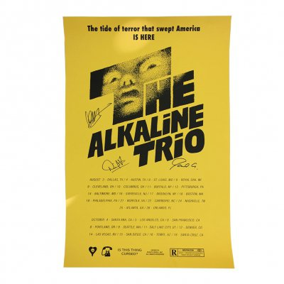 alkaline-trio - Shining Tour Print (Signed)