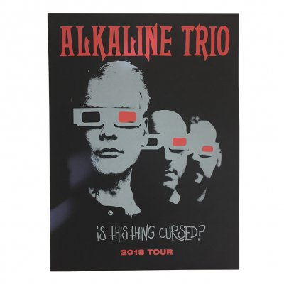 alkaline-trio - Is This Thing Cursed? 2018 Tour Print