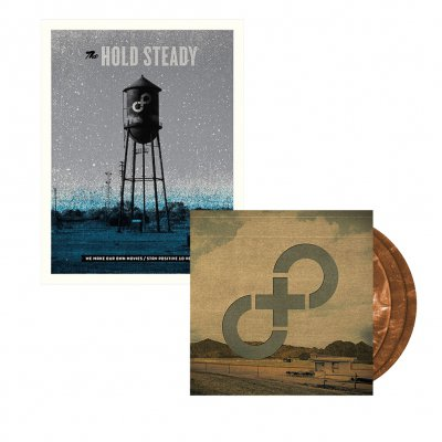 vagrant - Stay Positive 3xLP (Brown) + Poster Bundle
