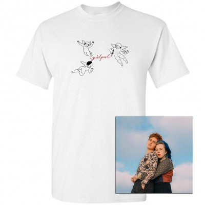 Girlpool - What Chaos Is Imaginary CD + Tee (White) Bundle
