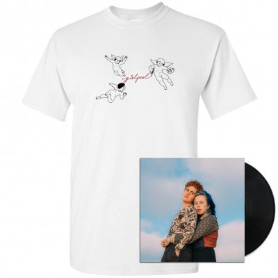 Girlpool - What Chaos Is Imaginary LP (Black) + Tee (White) Bundle