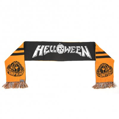 helloween - Pumpkins United Scarf (Orange/Black)