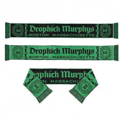 dropkick-murphys - XI Scarf (Black/Green)