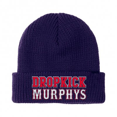 dropkick-murphys - Boston Varsity Knit Beanie (Navy)