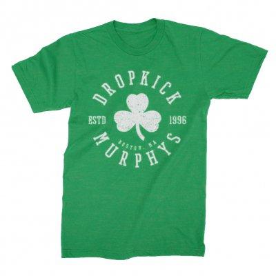 dropkick-murphys - Shamrock Seal Tee (Green)