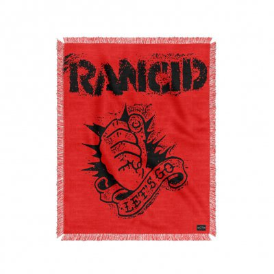 rancid - Let's Go Throw Blanket