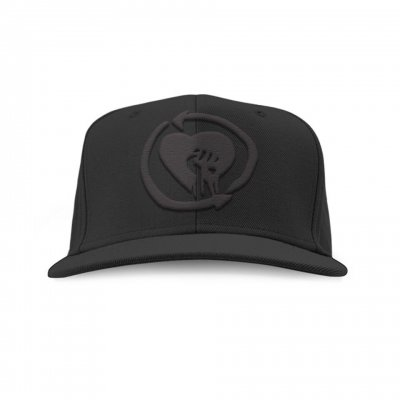 Blackout Logo Snapback