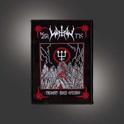 watain - Trident Wolf Eclipse Album Patch