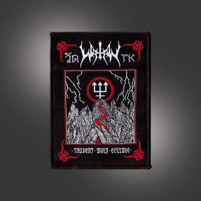 watain - Trident Wolf Eclipse Album Patch