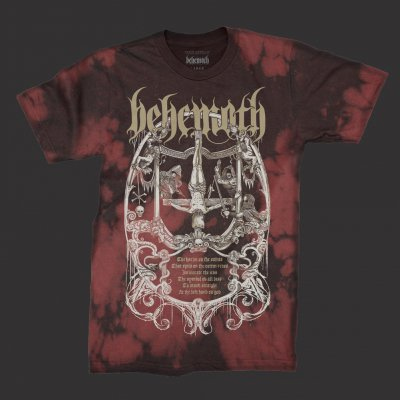 Harlot T-Shirt (Red Tie Dye)