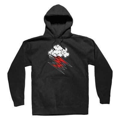 Cloud Pullover Hoodie (Black)