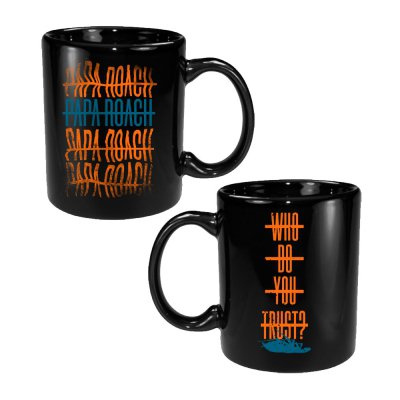 papa-roach - Warped Repeater Mug