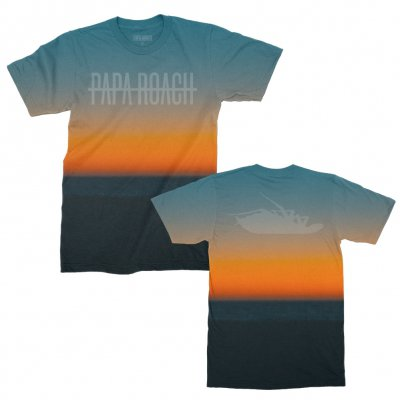 papa-roach - Renegade Sunset Tee (Sublimated)