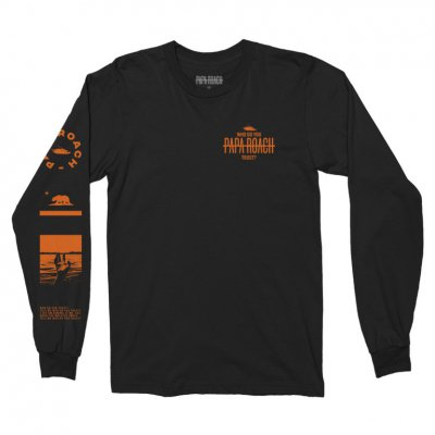 papa-roach - Who Do You Trust? Long Sleeve (Black)